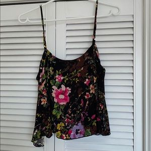Free People Garden Floral Tank XS